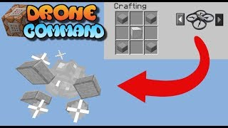 Minecraft Bedrock Edition/Xbox/MCPE | Drone Command Block Creation Tutorial