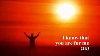 You Are For Me by Kari Jobe (lyrics)