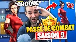 "ESTA PIEL ""SEXY"" DE LA SAISON COMBAT PAS 9 M'A TROP SHOCKED EN FORTNITE BATTLE ROYALE!"