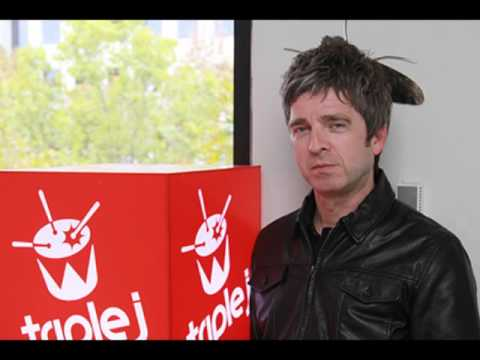 Noel Gallagher Triple J interview Australia 1st April 2016 - Noel picks his 5 favourite songs