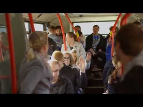 Proxama's testing of BLE beacons on buses