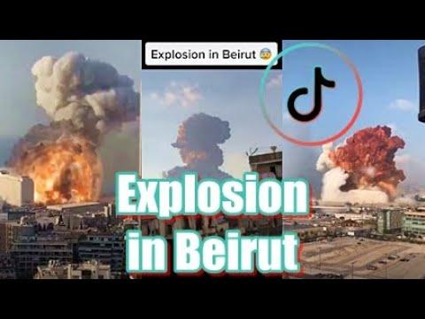 Explosion in Beirut Lebanon 2020 | TikTok Video Compilation from Different  Angles | Pray for Lebanon - YouTube