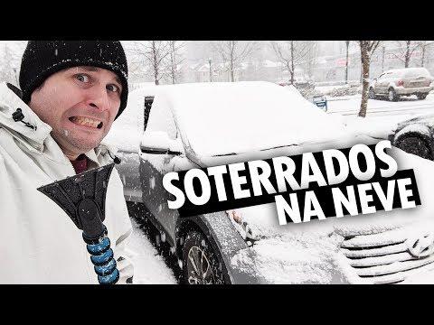 NOSSO CARRO FOI SOTERRADO NA NEVE NO CANADÁ - Vlog Ep.98