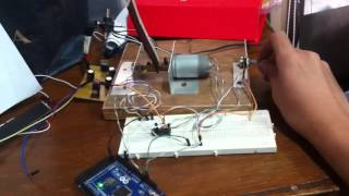 PID DC motor position control using Arduino