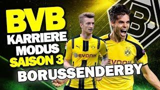 BORUSSENDERBY GEGEN GLADBACH! - WIEDER NEUE CPU EINSTELLUNGEN ♕ FIFA 17 KARRIEREMODUS BVB S3 #37