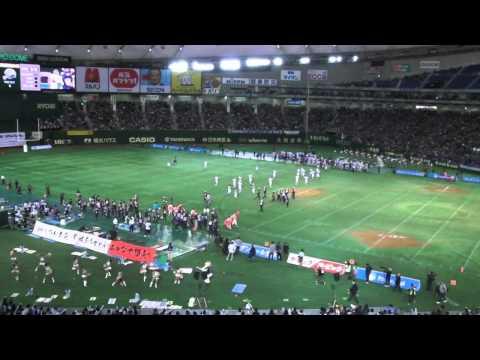 65th Ricebowl - Obic seagulls VS  関西学院大学 Fighters
