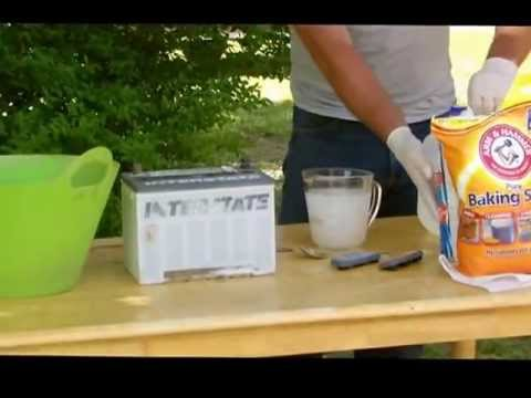 Reconditioning a 12 Volt Car Battery part #1