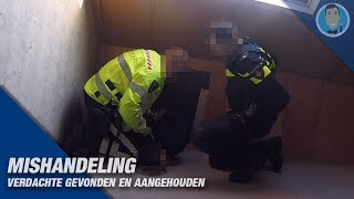 MISTREATMENT POLICE OFFICER & arrest suspect. Politievlogger JanWillem and Dwight