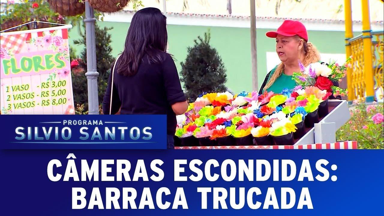 Barraca Trucada  Tricked Hot Dog Cart Prank  Cmeras Escondidas 101217