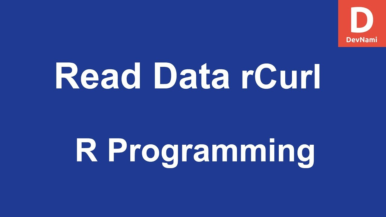 how to read the data in r