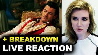 Beauty and the Beast Gaston Clip REACTION
