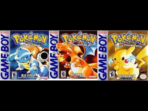 Pokémon Red  Blue  Yellow GameBoy  Wild Pokemon Battle Theme  10 Hour