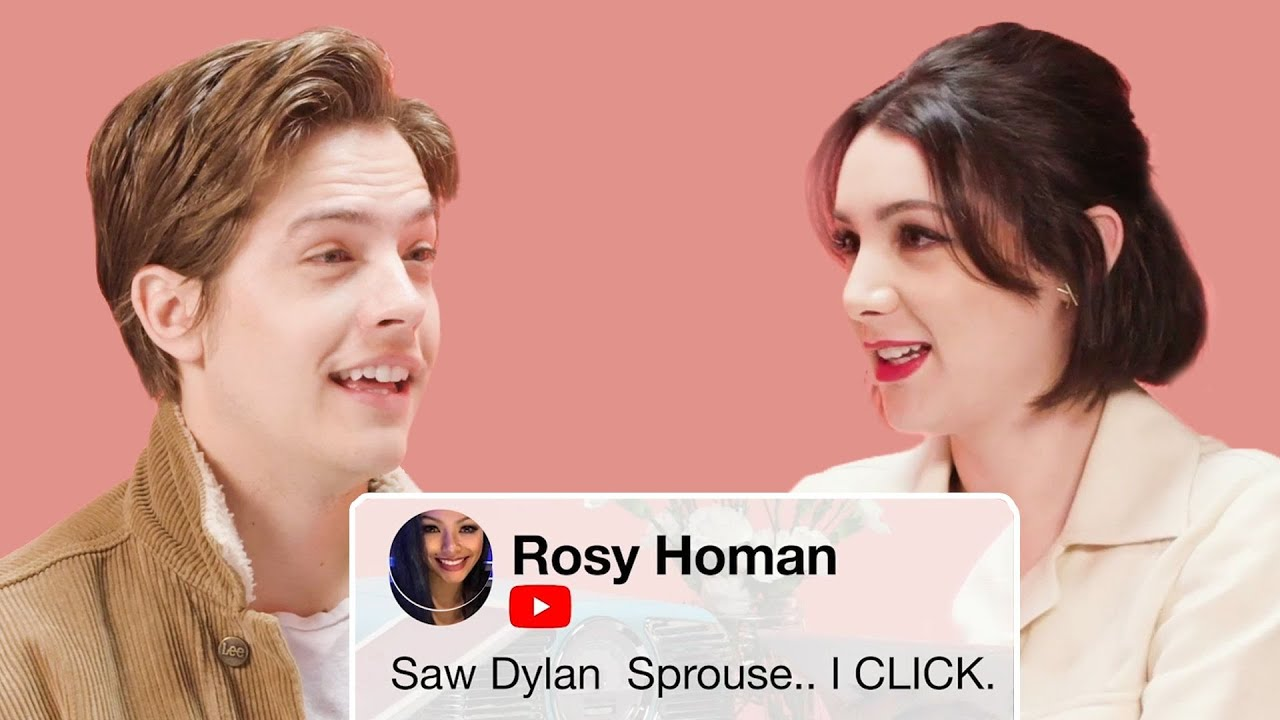 Dylan Sprouse and Hannah Marks Compete in a Compliment Battle | Teen Vogue