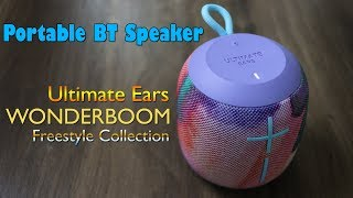 Ultimate Ears WONDERBOOM Freestyle Collection unboxing and review - Rs. 6,995