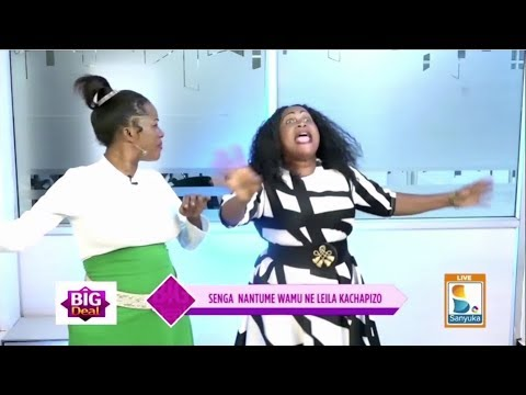 Senga Justine Nantume Ne Kacapizo Ku Bakazi Abatereka Obusungu | Sanyuka Big Deal