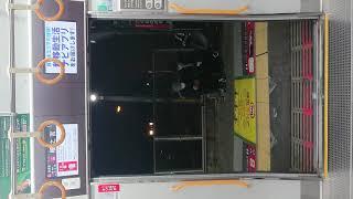 JR 大阪環状線 扉 閉 桜ノ宮駅