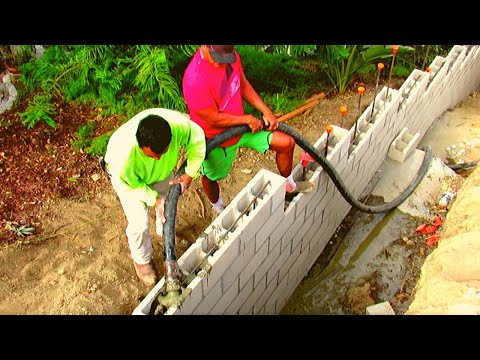 Hillside Retaining Wall. The Best In The West! California