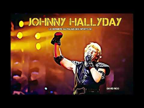 Johnny Hallyday la dernière palais des sports 82 rare inédit audio