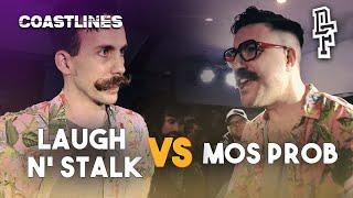 LAUGH N' STALK VS MOS PROB | Don't Flop Rap Battle