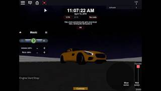 Mercedes Benz AMG at my own game! (ROBLOX Adrenaline FuryII)