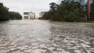 USA, l'uragano Florence tocca terra