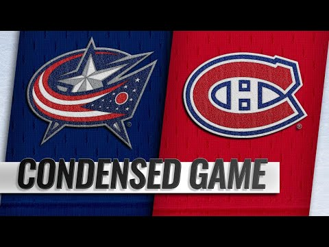 02/19/19 Condensed Game: Blue Jackets @ Canadiens