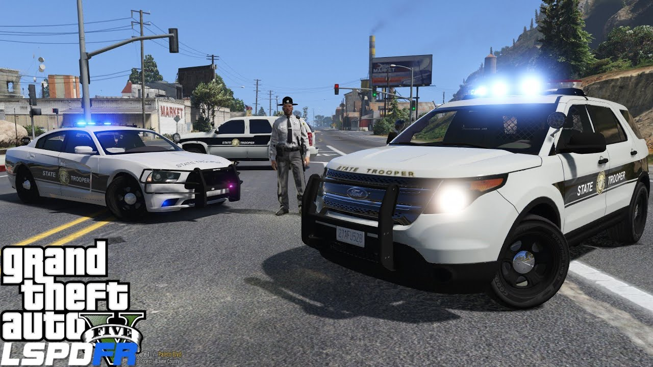 GTA 5 LSPDFR Police Mod 206 | North Carolina Highway Patrol | Paleto Bay| I  Got Doubled Crossed