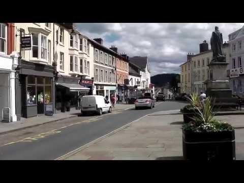 Town Centre, Brecon, Wales