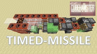 Minecraft: Missile with built in Timer - Timed Missile