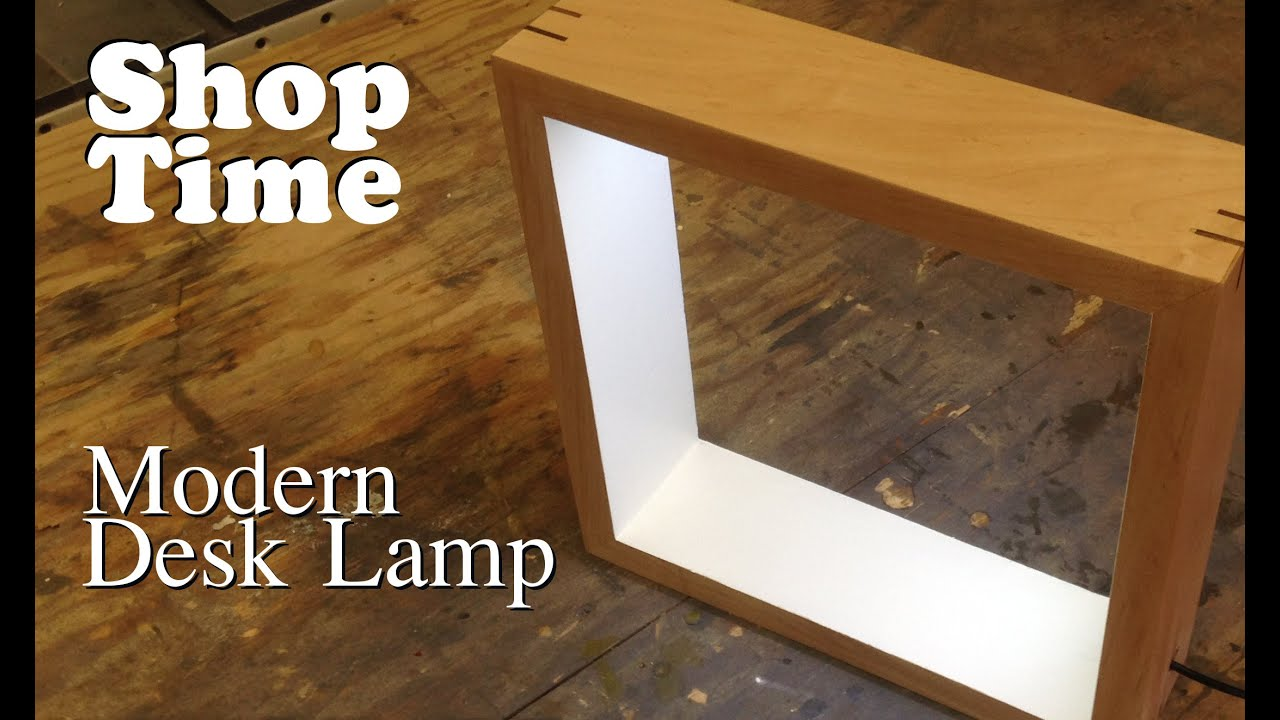 Modern Picture Frame Desk Lamp - YouTube