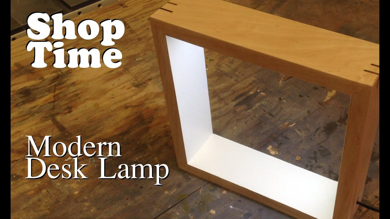 Modern Picture Frame Desk Lamp - YouTube