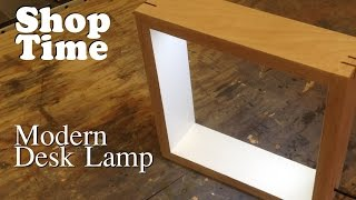 Modern Picture Frame Desk Lamp