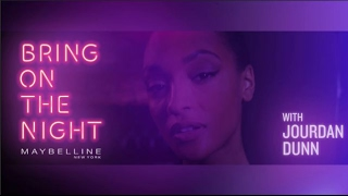 Maybelline UK || Bring on the Night || Jourdan Dunn LFW Party look