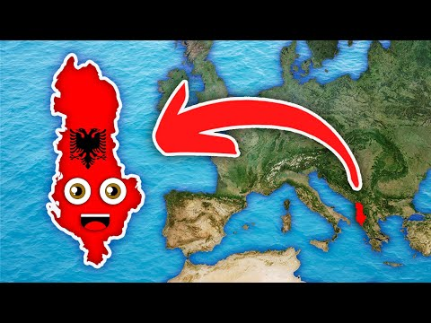 Albania Geography/Albania Country Counties