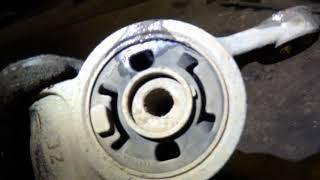 Mazda CX-5 Замена шаровой опоры и сайлентблока