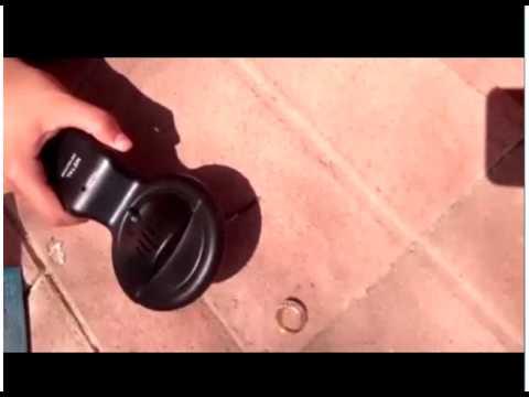מפואר גלאי מתכות - YouTube KX-17