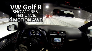 Testing Bridgestone Blizzaks in the Snow! | VW Golf R
