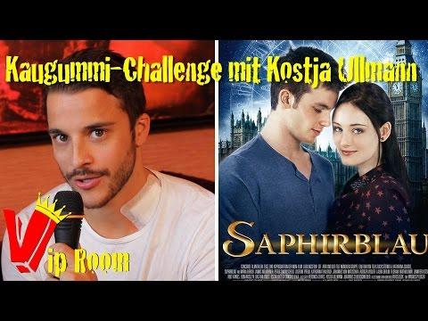 Saphirblau   Kaugummi-Challenge mit Kostja Ullmann
