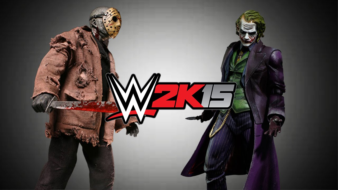 wwe 2k15 jason voorhees vs the joker ps4 xbox one youtube
