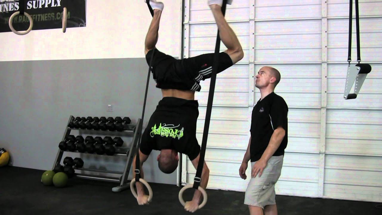 Ring handstand