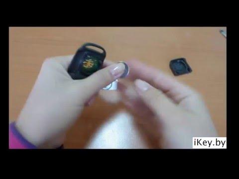 замінити батарейку в ключі мерседес