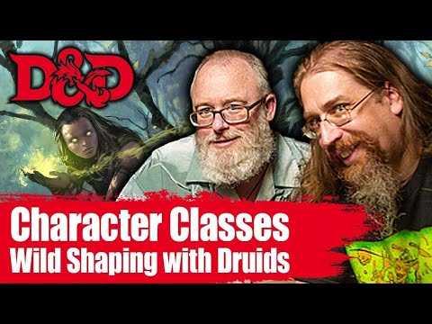 Wild shaping with Druids in 5e  Dungeons and Dragons 5th Edition Classes