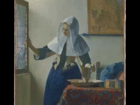 Vermeer, Young Woman With A Water Pitcher