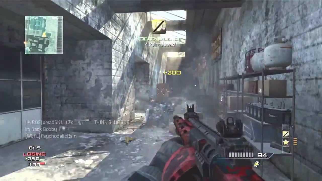 MW3: Striker Shotgun MOAB on Dome!