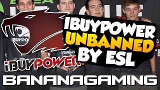 CS:GO NEWS - IBUYPOWER UNBANNED BY ESL
