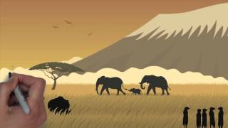 protecting endangered african wildlife animals and species against poachers