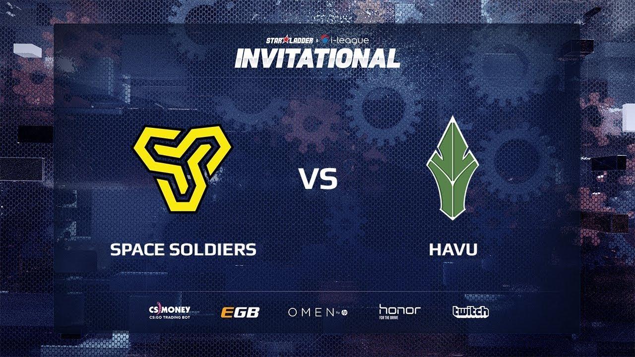 Space Soldiers vs HAVU, map 2 cache, SL i-League Invitational Shanghai 2017 EU Qualifier