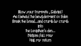 Behemoth - Blow your trumpets Gabriel [lyrics]