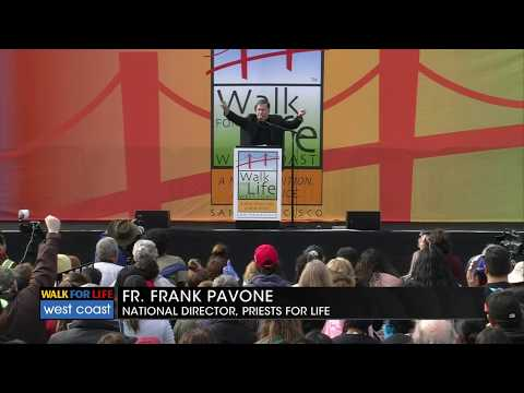 Speech given at the 2020 Walk for Life by Fr Frank Pavone