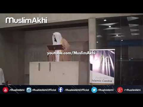 Lessons For The Sound Mind | Part 2 | Mufti Menk | Melbourne 2018 | Australia Islamic Centre